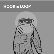 Hook & Look Rubber Pull-Strap