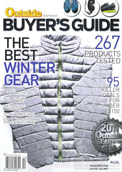 Outside Magazine, 2011 Winter Buyer's Guide