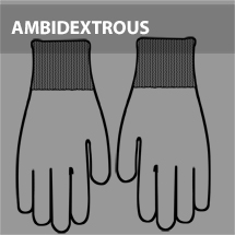 Reversible or Ambidextrous Thumb