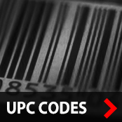 List all products by Style Numbers & UPC Codes (A-Z, 1-9)